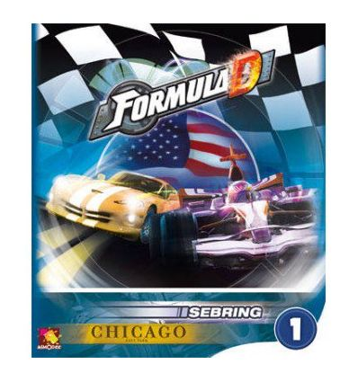 Formula D : Circuit Sebring / Chicago (Extension)