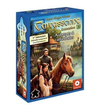 Carcassonne Extension 1 : Auberges et Cathédrales