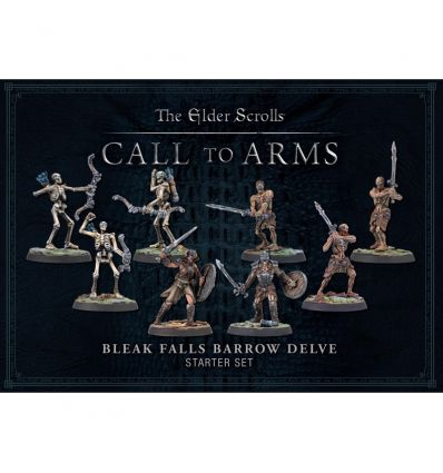 Elder Scrolls - Le Jeu de Figurines - Bleak Falls Barrow Plastic Delve Set