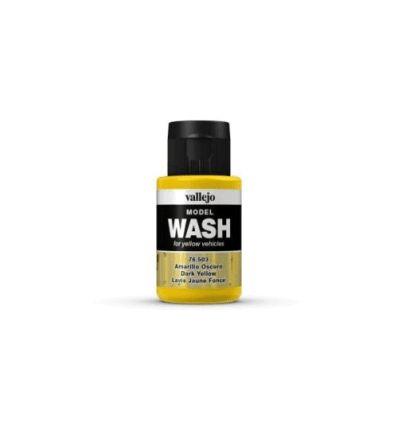 Wash jaune foncé