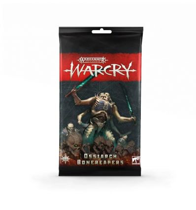 Warcry - Cartes Ossiarch Bonereapers