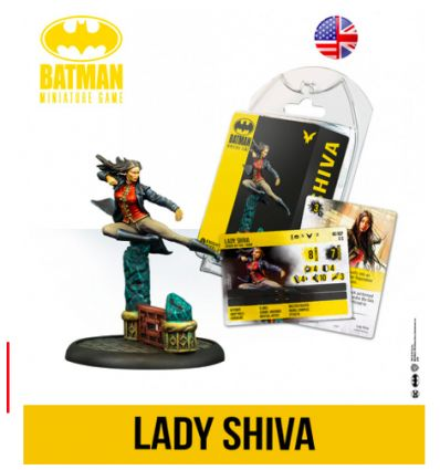 Batman - Le Jeu de Figurines - Lady Shiva