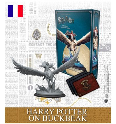 Harry Potter - Le Jeu de Figurines - Harry Potter sur Buck - Edition Limitée