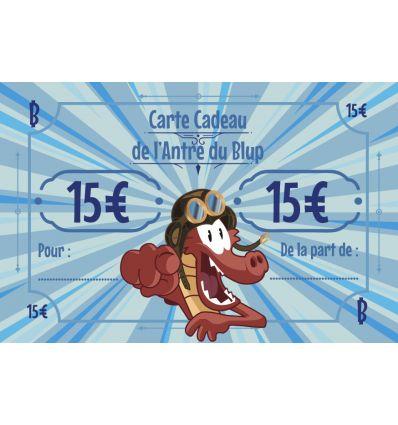 Carte Cadeau - 15 Euros