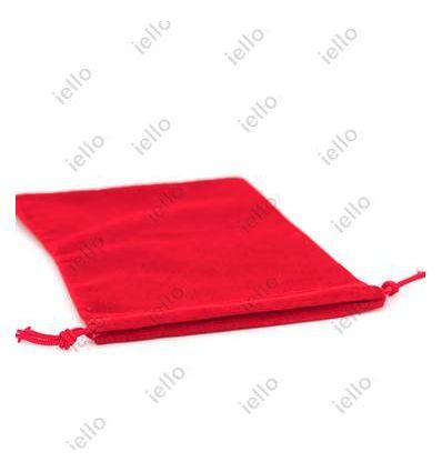 Bourse Velours Rouge