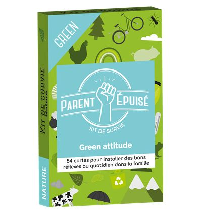 Parent Epuisé - Kit de Survie Green Attitude