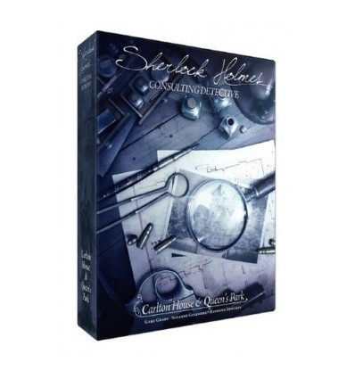 Sherlock Holmes - Détective Conseil : Carlton House & Queen's Pa