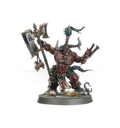 [K Bloodbound] Exalted Deathbringer with Ruinous Axe
