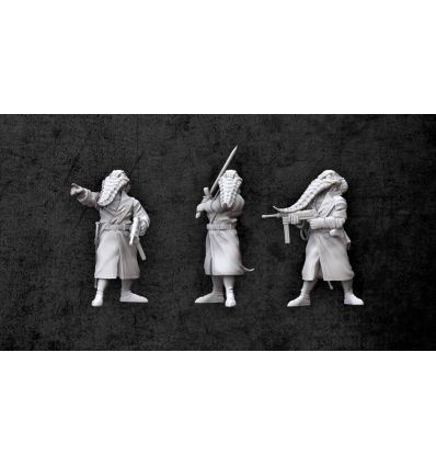 [Achtung! Cthulhu Miniatures] Servitor Overlords of Nyarlathotep