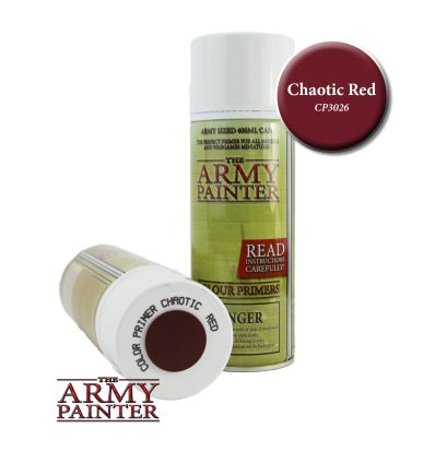 [Army Painter] Sous Couche Chaotic Red
