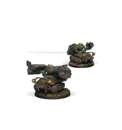 [Infinity] Traktor Muls, Régiment D'artillerie et de Soutien