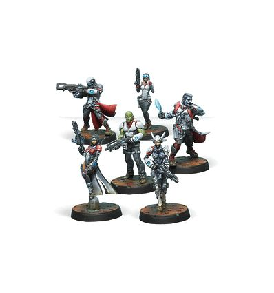 [Infinity] Bakunin Jurisdictional Command (Nomads Sectorial Starter Pack)