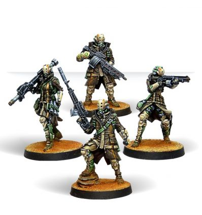 [Infinity] Zhayedan Intervention Troops (Sniper, HMG, Missile Launcher, Medic Boarding Shotgun)