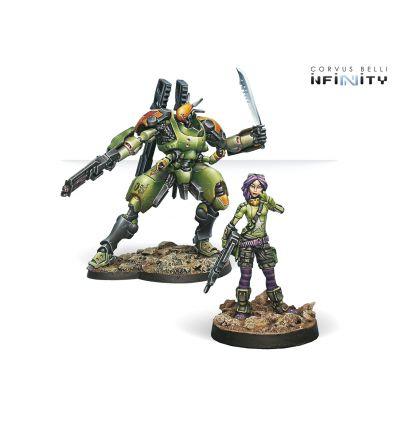 Scarface & Cordelia, Équipe Mécanisée Mercenaire