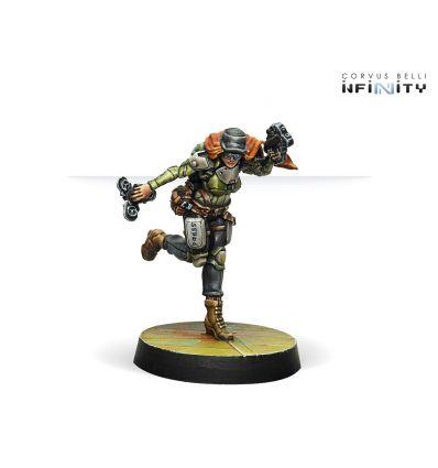 Warcors, War Correspondant (Stun Pistol)