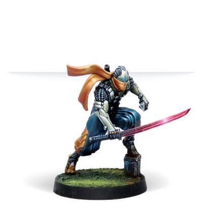 [Infinity] Saito Tōgan, Mercenary Ninja (Combi Rifle)